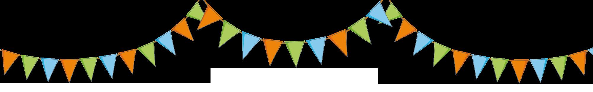 Banner Wimpelkette